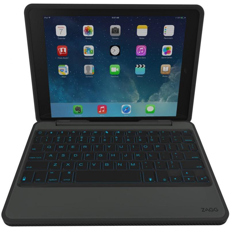 ZAGG Rugged Book - Étui clavier iPad Air 2 - AZERTY