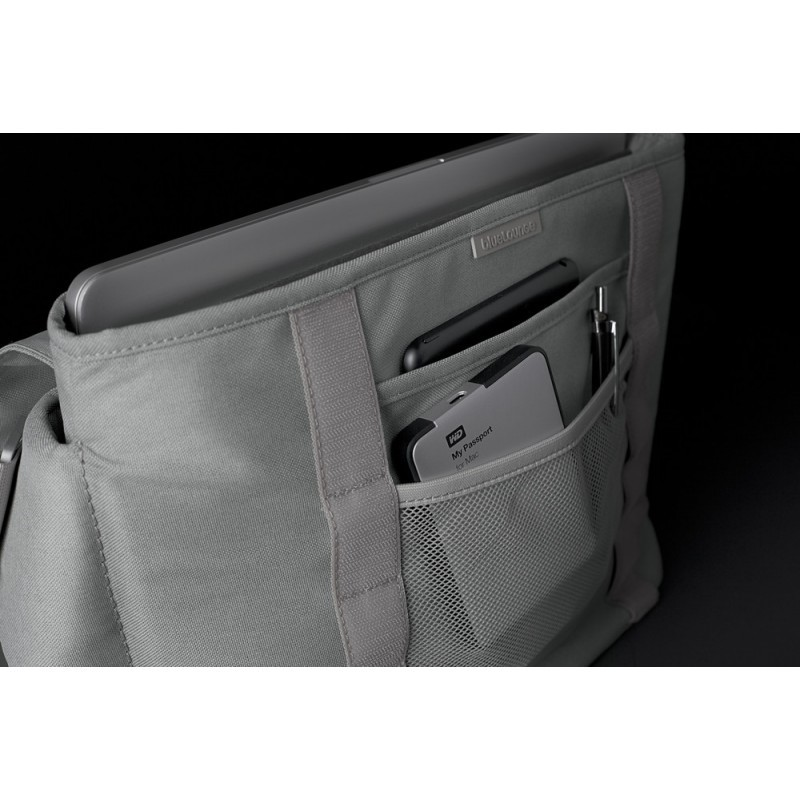 "Bluelounge Sac Messenger MacBook 13"" / 15"" Gris"