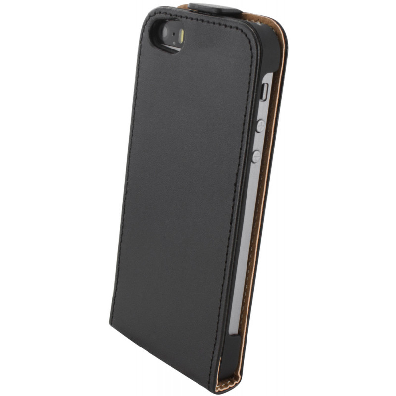 Mobiparts Essential Flip Case iPhone 5 / 5S Black