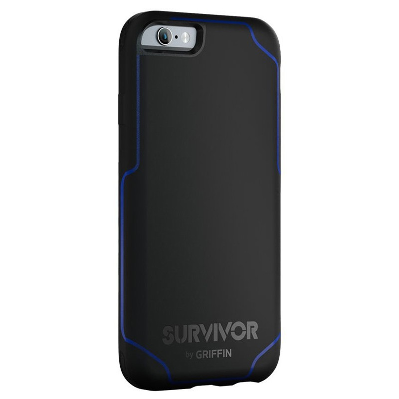Griffin Survivor Journey étui iPhone 6 / 6S Noir/Bleu