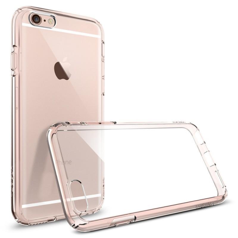 Spigen Ultra Hybrid Coque iPhone 6 / 6S Rose cristal