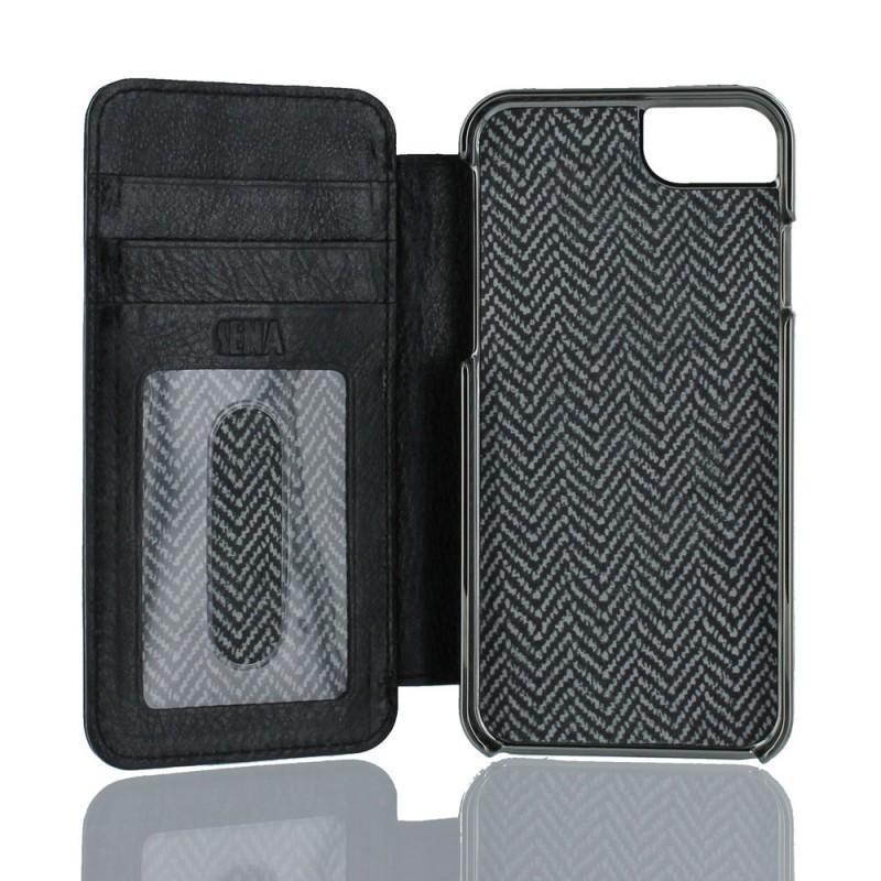 Sena WalletBook Heritage cuir iPhone 6(S) noir