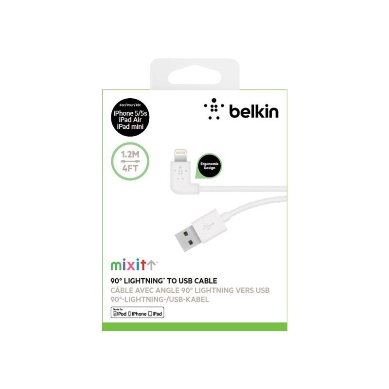 BELKIN MIXIT 90   ° Lightning - USB-kabel wit