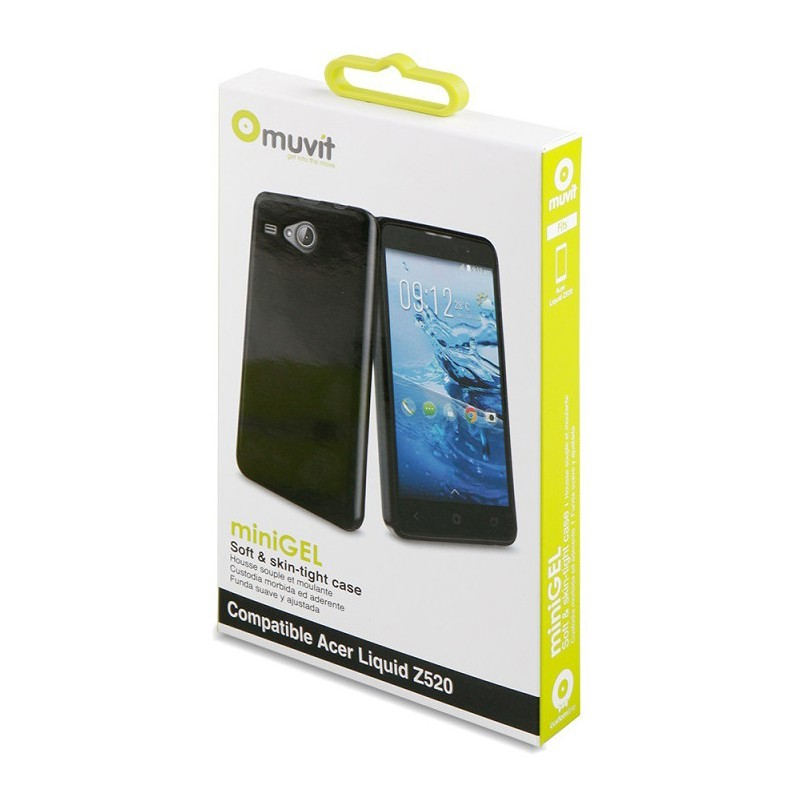 Muvit Minigel Case Liquid Z520 Black
