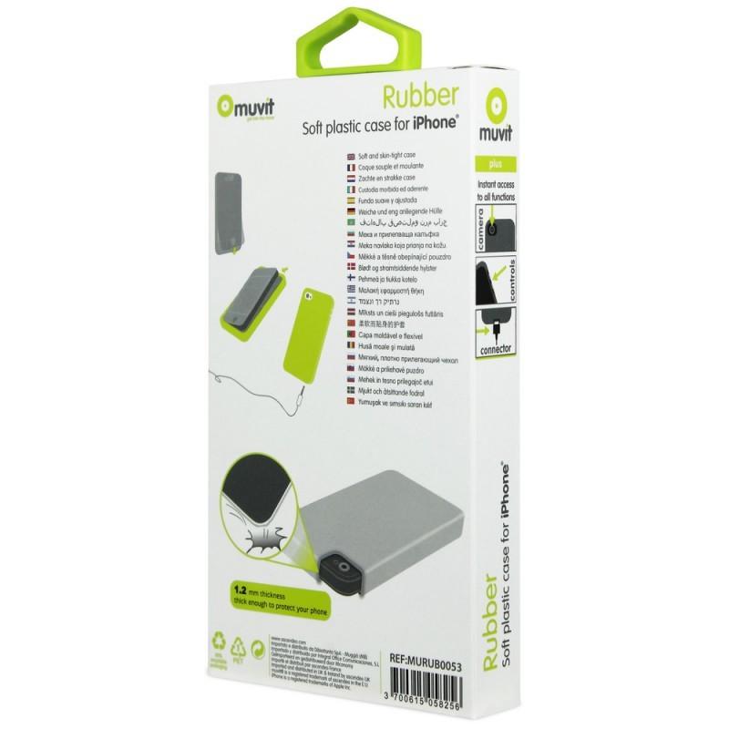 Muvit - Coque iPhone 5 / 5S de protection - En Silicon