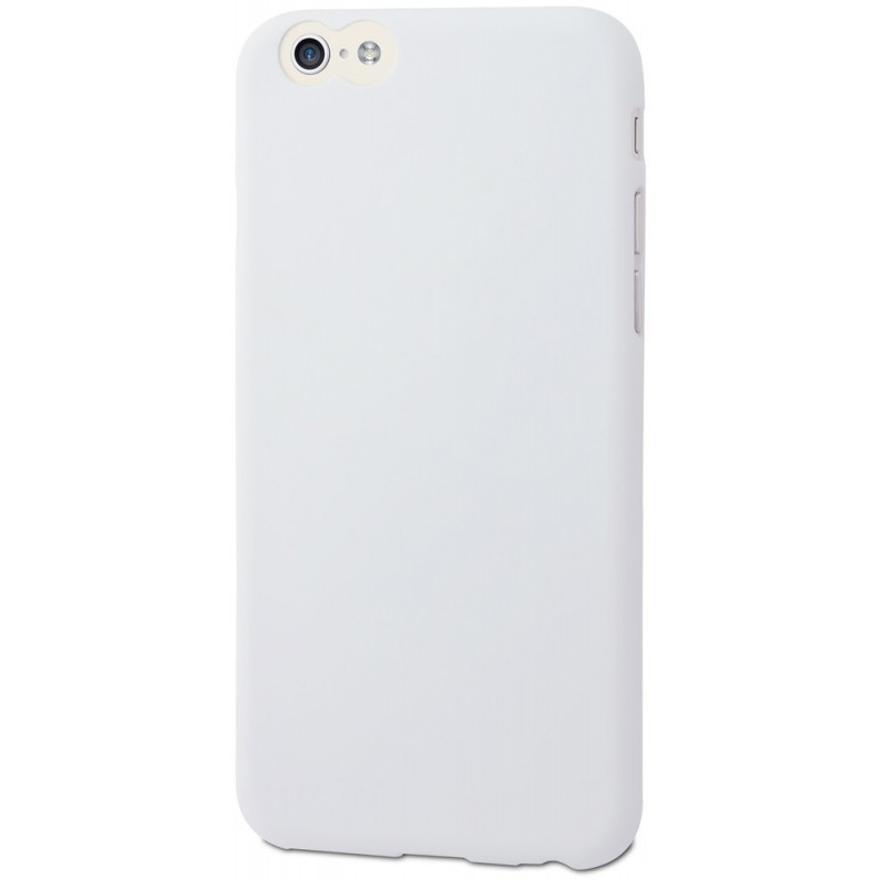Muvit ThinGel - Coque iPhone 6(S) de protection - Blanc