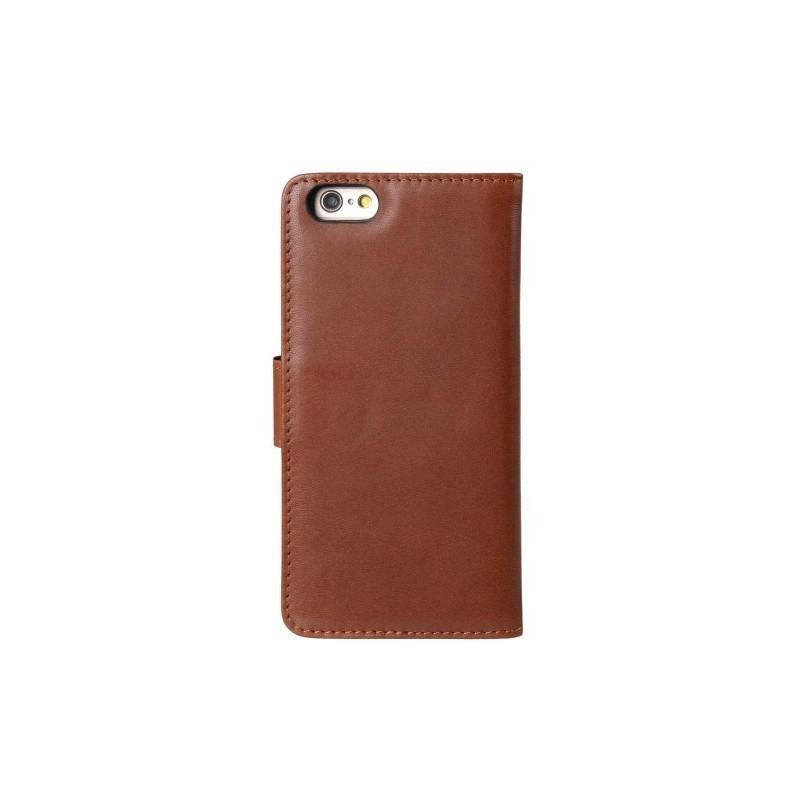 Melkco Alphard iPhone 6 / 6S Plus Etui portefeuille Cuir Brun