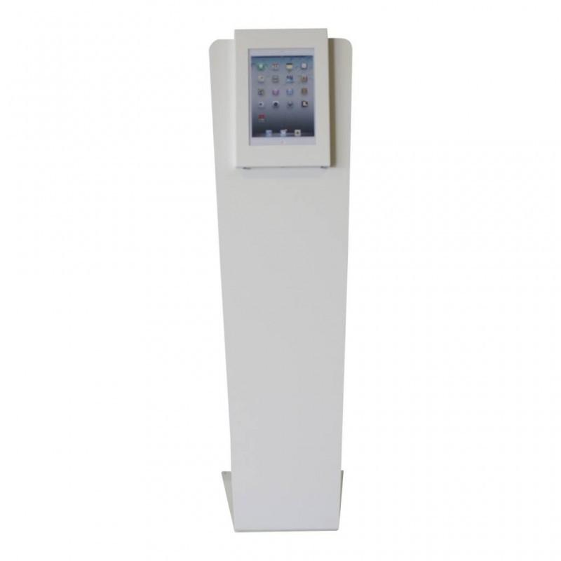 """Support pour tablette - Kiosque Sécuro - iPad Pro 9,7"""" / 10,5"""" / 11""""  - Blanc"""