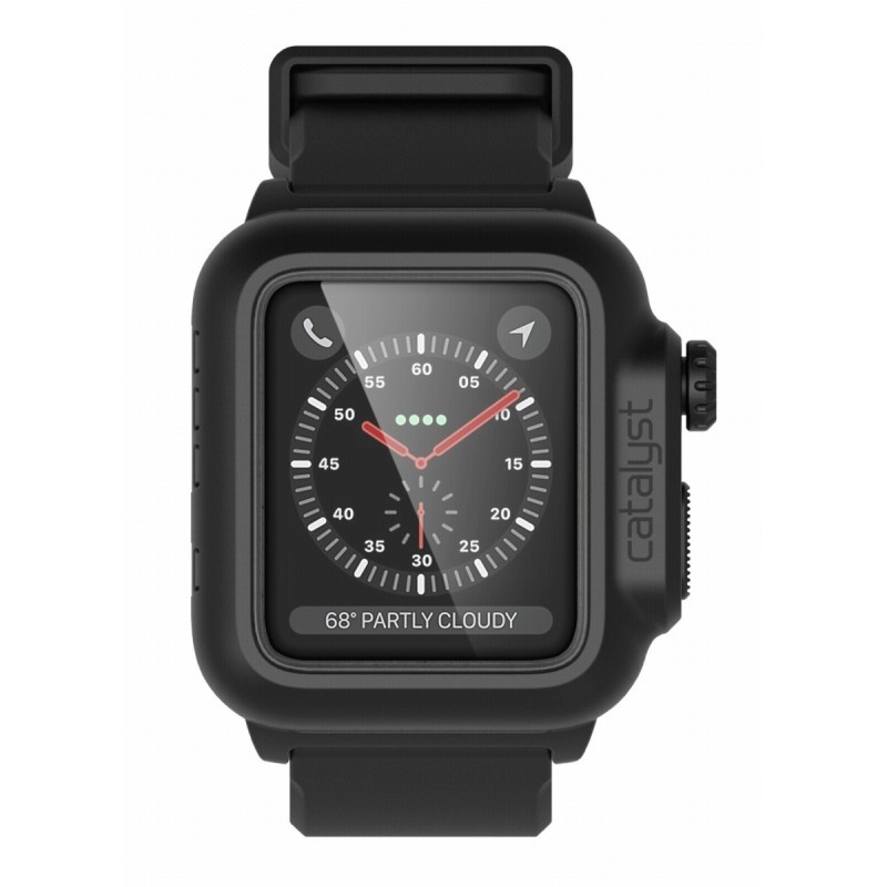 Catalyst Coque waterproof Apple Watch 2 38mm noir