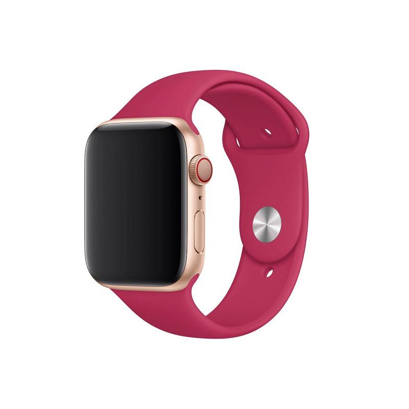 Apple - Bracelet Apple Watch 38mm / 40mm - Bracelet Sport - Pomegranate