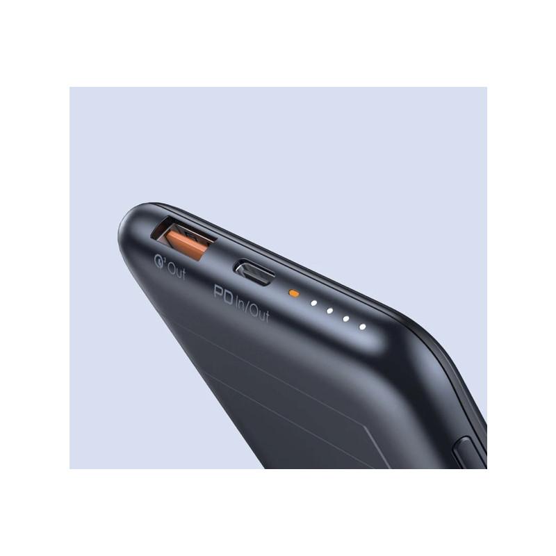 Aukey - Batterie externe / Chargeur sans fil 10.000 mAh
