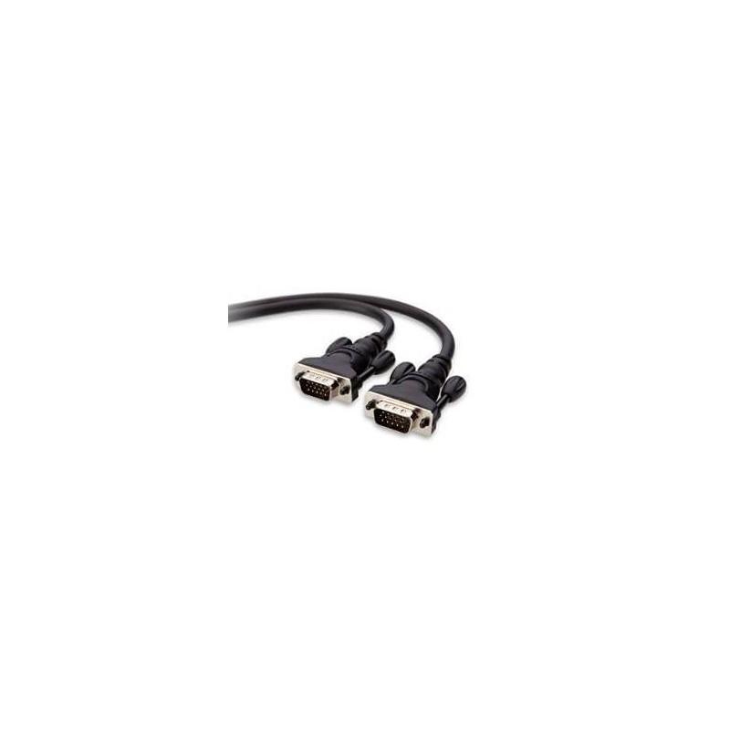 VGA monitorkabel (2,00 m) zwart