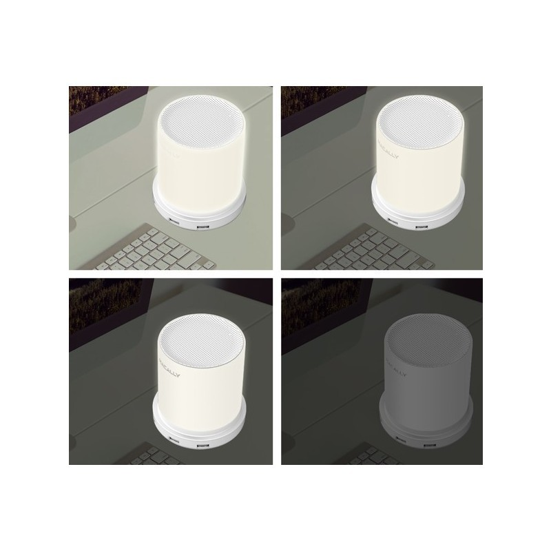 Macally Dimbare Lampe de Table 4 x port USB (EU) Blanc