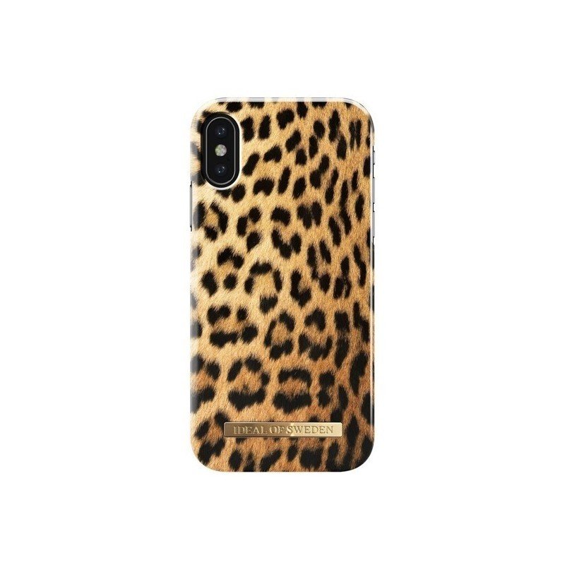 coque iphone x leopard
