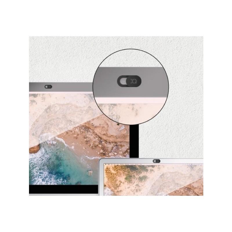 Xqisit Cache Webcam - Cache Caméra - Noir