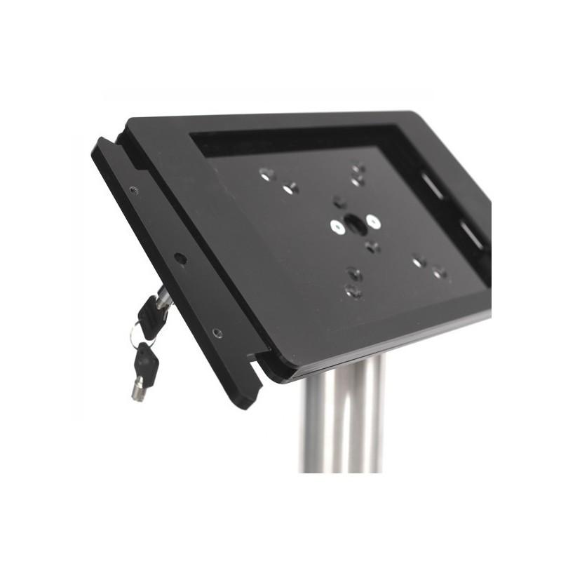 Support pour tablette Fino iPad 12,9 pouces - Acier Inoxydable Noir
