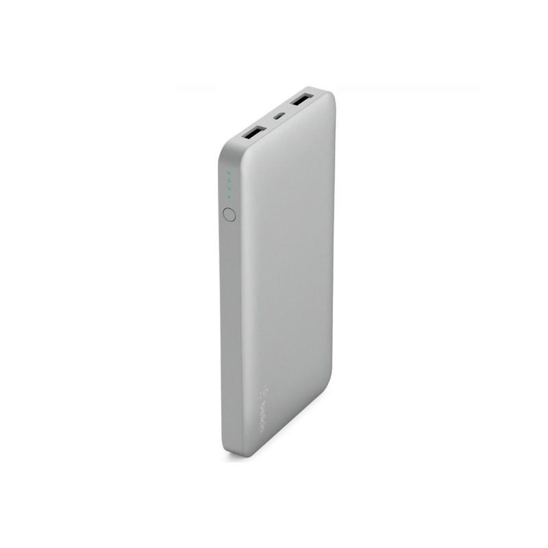 Belkin Batterie Externe 10.000 mAh argent