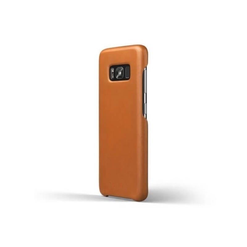 Mujjo Coque en cuir - Samsung Galaxy S8 Plus - Marron