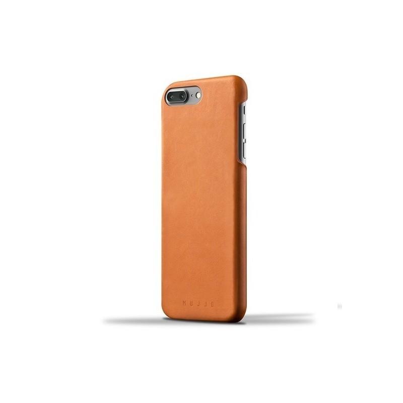 Mujjo Coque en cuir - iPhone 7 / 8 Plus - Marron