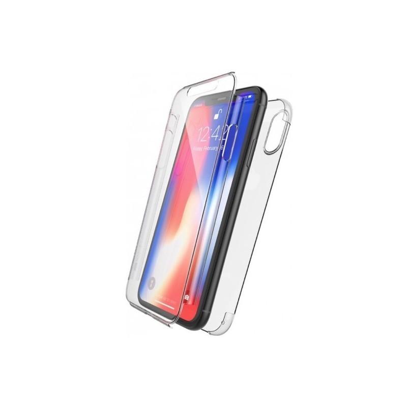 coque integrale iphone xr transparent
