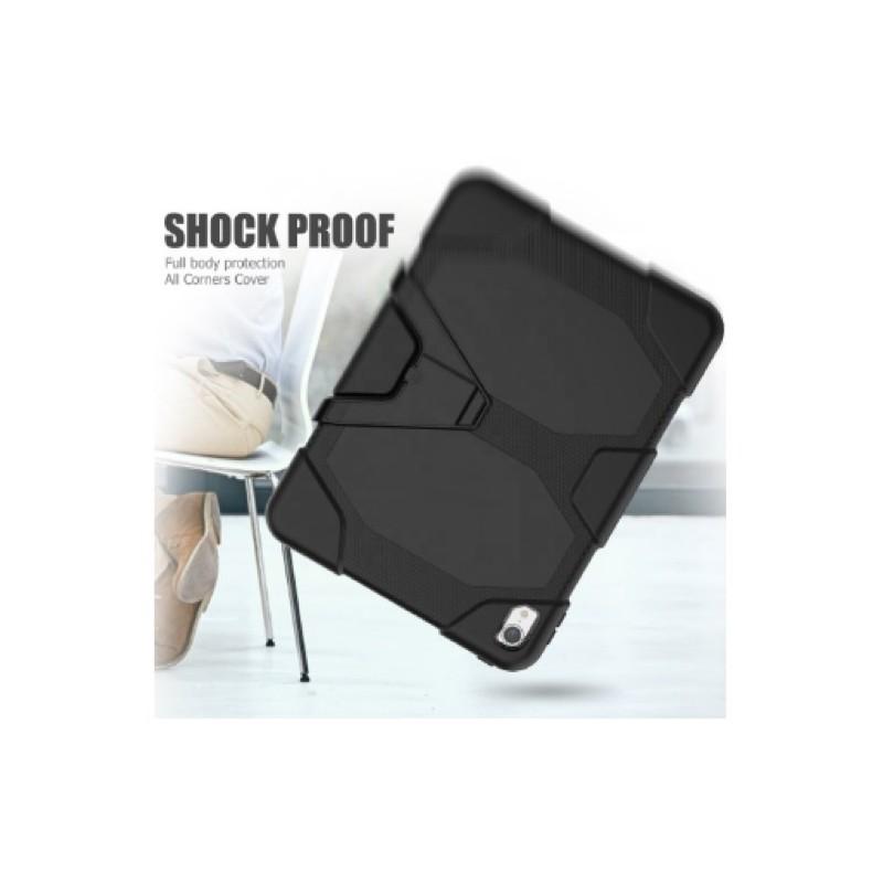 Casecentive Ultimate - Coque Antichoc - iPad Pro 12,9 pouces (2018) Noir