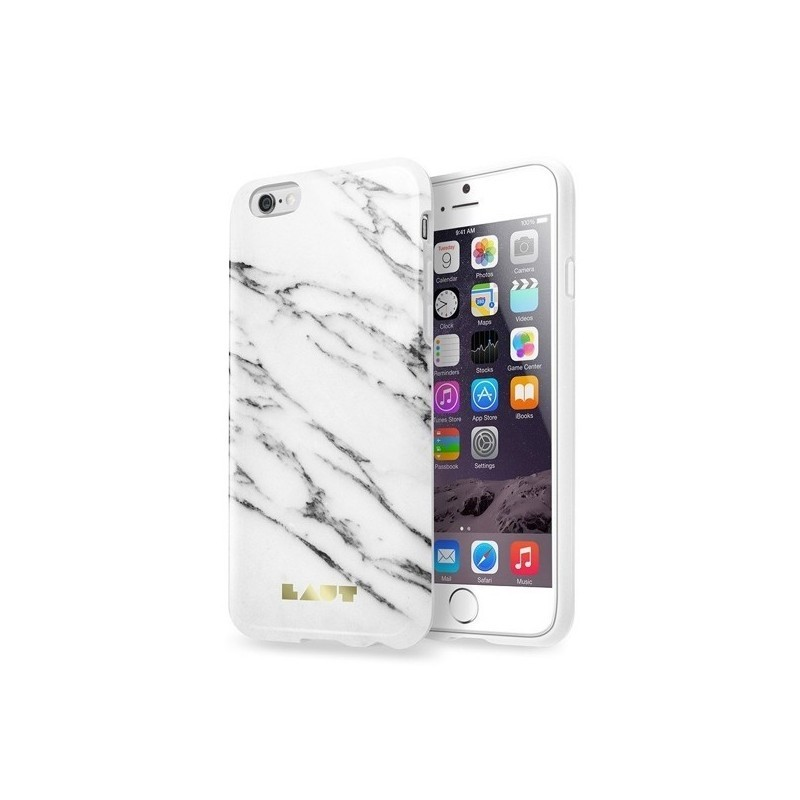 Laut Huex - Coque iPhone 6(S) Marbre - blanc
