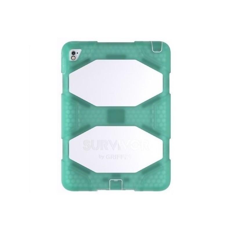 Griffin Survivor All-Terrain iPad Air 2 / iPad Pro 9.7 vert/blanc