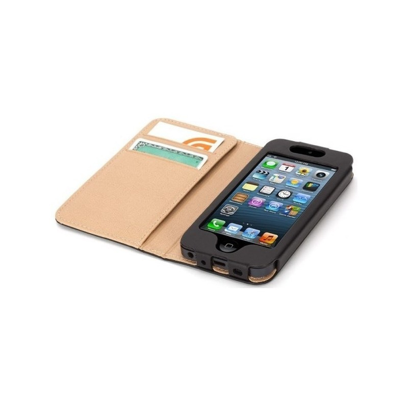 Griffin Midtown booklet étui portefeuille iPhone 5(S)/SE/C noir