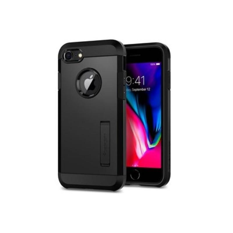 Spigen Slim Armor Coque iPhone 7 / 8 Plus noir