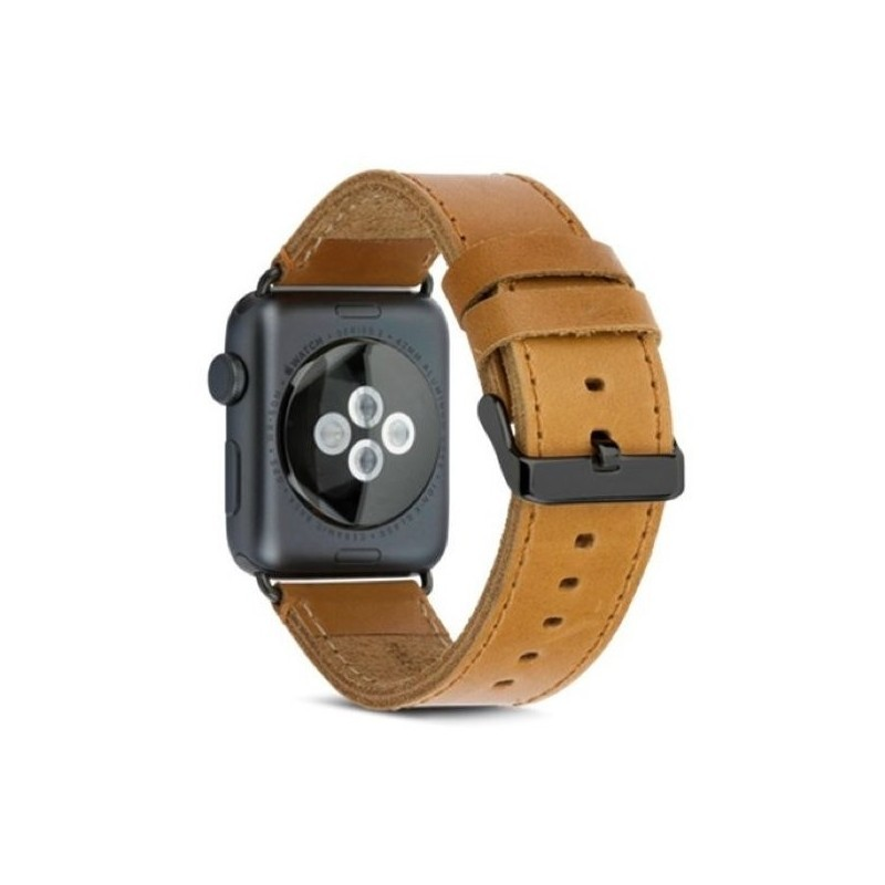 dbramante1928  - Bracelet Apple Watch 42 / 44 mm - Brun / Gris sidéral