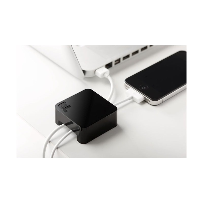 Bluelounge Sumo support de câble Noir