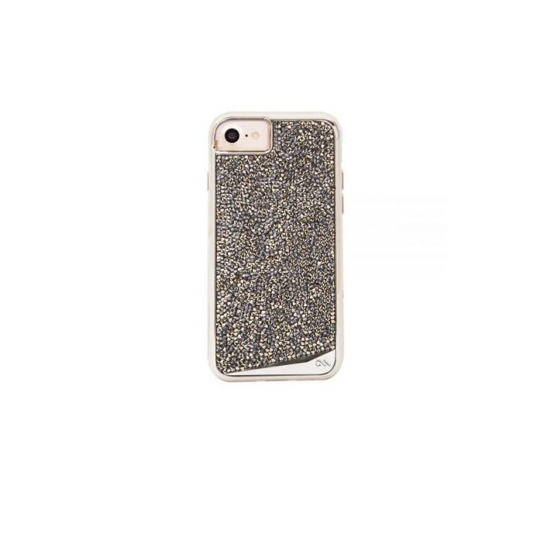 Case-Mate Brilliance Tough Coque iPhone 6(S) / 7 / 8 / SE 2020 Argent