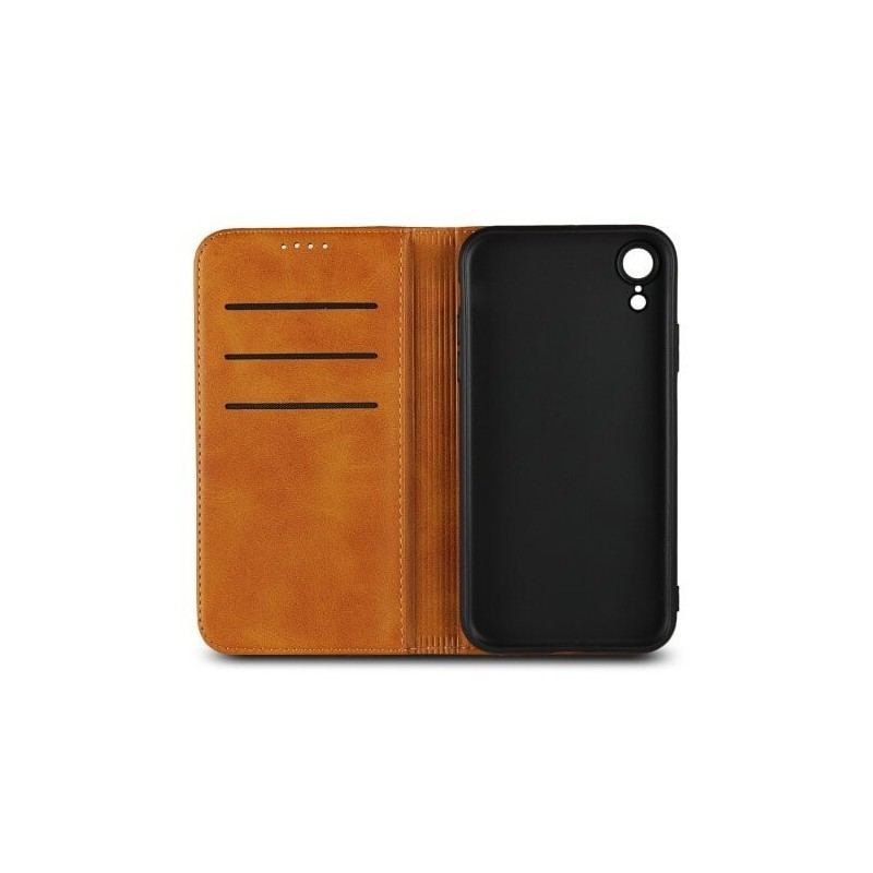 coque iphone xr cuir portefeuille