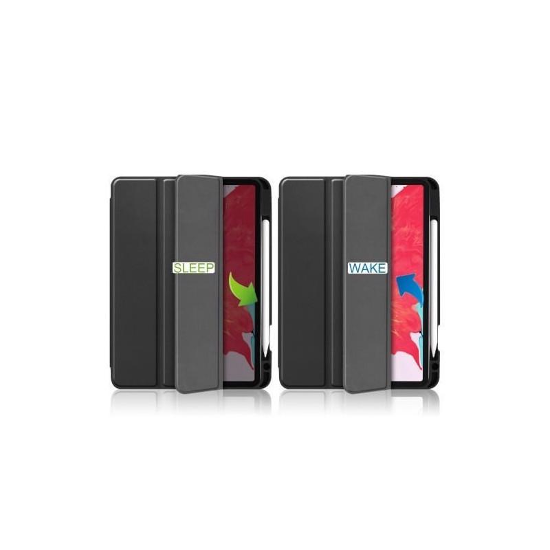 """Casecentive - Étui iPad Pro 12.9"""" 2020 - Noir"""