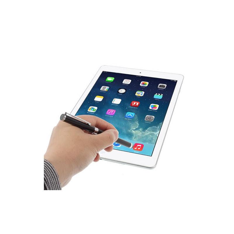 Casecentive Stylet Tactile pour iPad et Tablette Noir