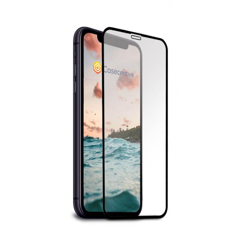 Casecentive - Vitre de protection en verre trempé - 3D Couverture totale - iPhone 11