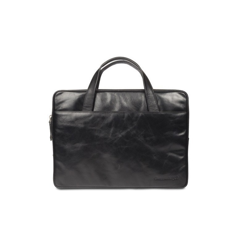 "Dbramante1928 Silkeborg sac en cuir 15"" noir"