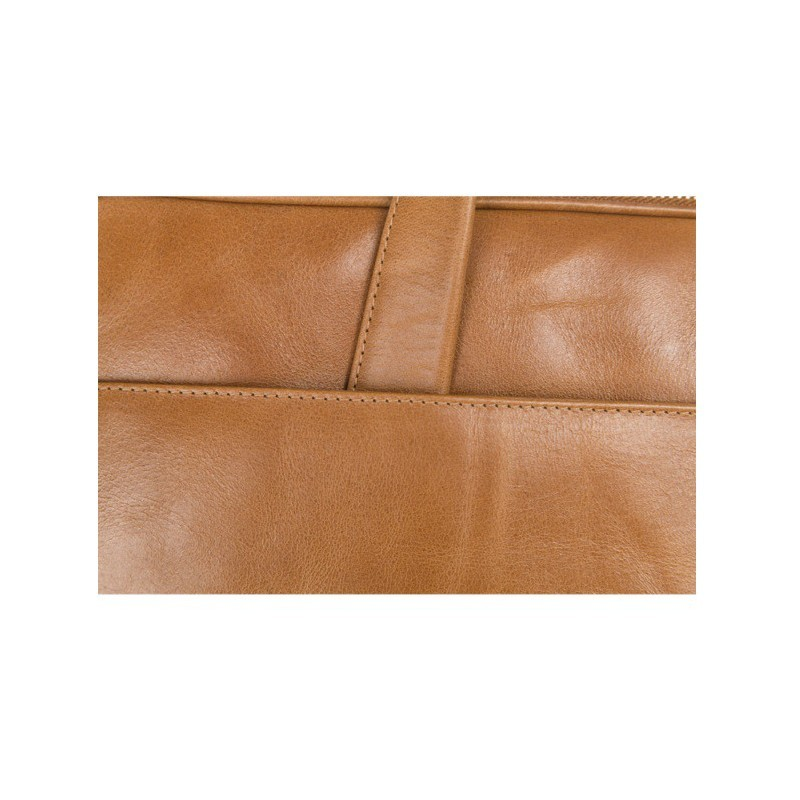"Dbramante1928 Silkeborg sac ordinateur en cuir 15"" brun doré"