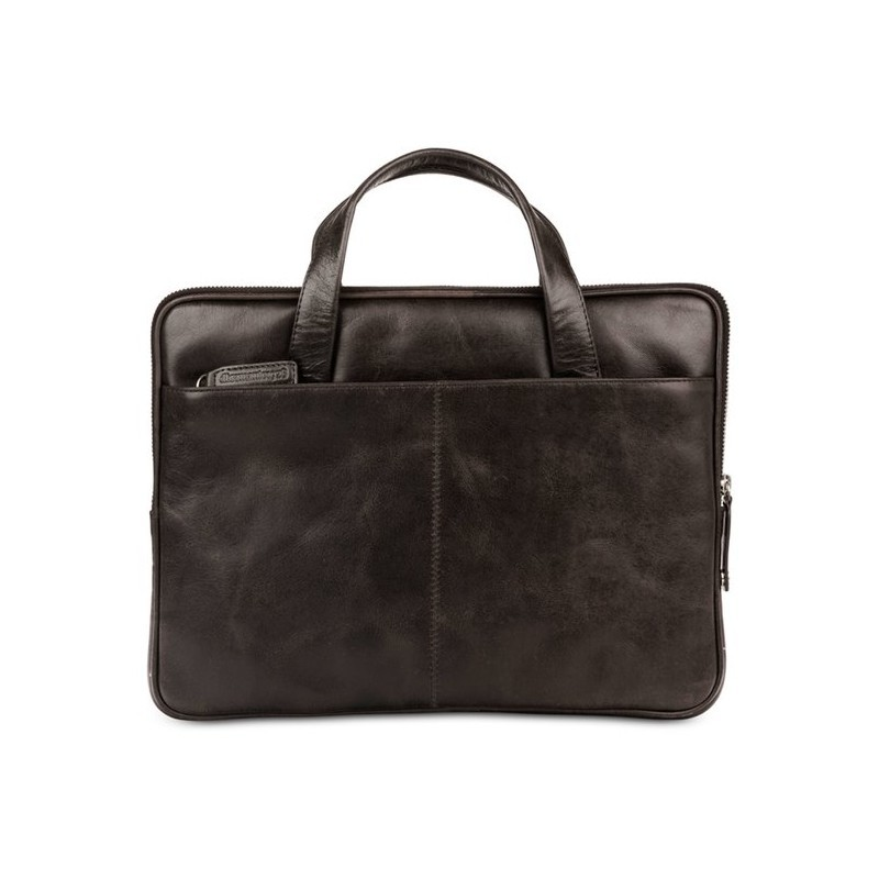 "dbramante1928 Silkeborg sac en cuir 13"" noir"