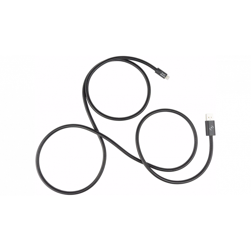 Fuse Chicken - Chargeur Apple USB-A - Titan Black + 1,5 m