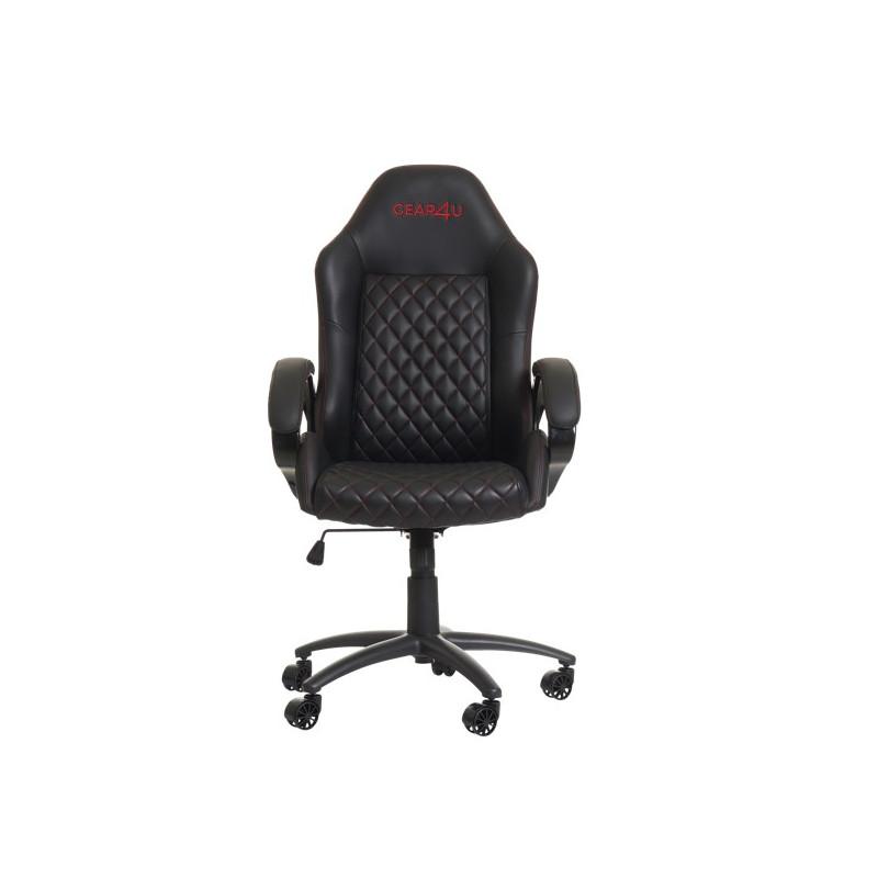 Gear4U Demon - Siège gamer / Chaise gaming - Noir