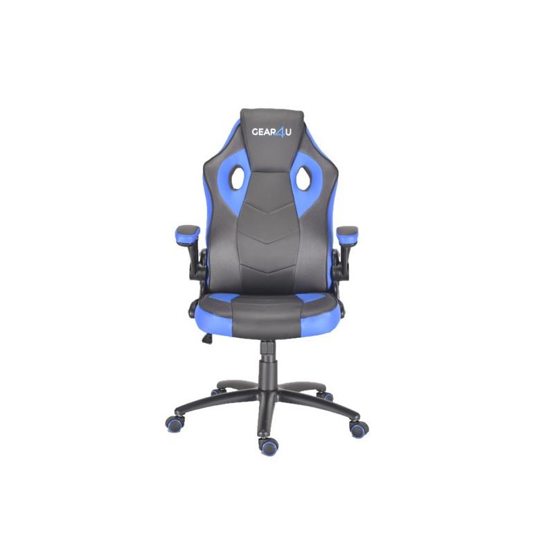 Gear4U Gambit Pro - Siège gamer / Chaise gaming - Bleu / Noir