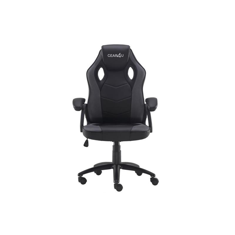 Gear4U Rook - Siège gamer / Chaise gaming - Noir