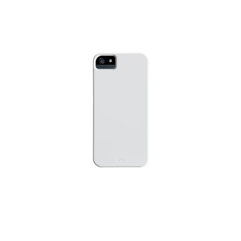 Case-Mate Barely There Coque iPhone 5(S) / SE - Blanche