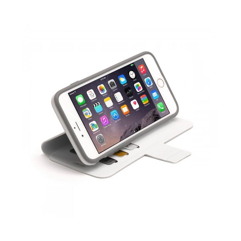 Griffin Identity wallet case iPhone 6(S) Plus Blanc