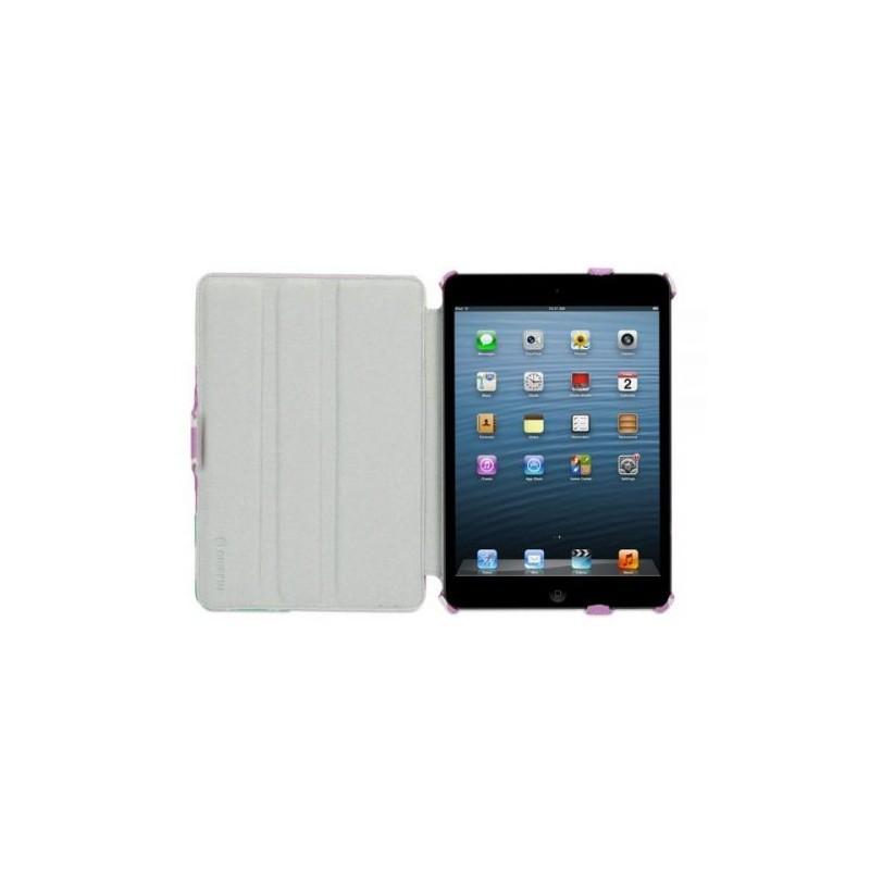 Griffin Journal Booklet étui iPad Mini Violet/Blanc