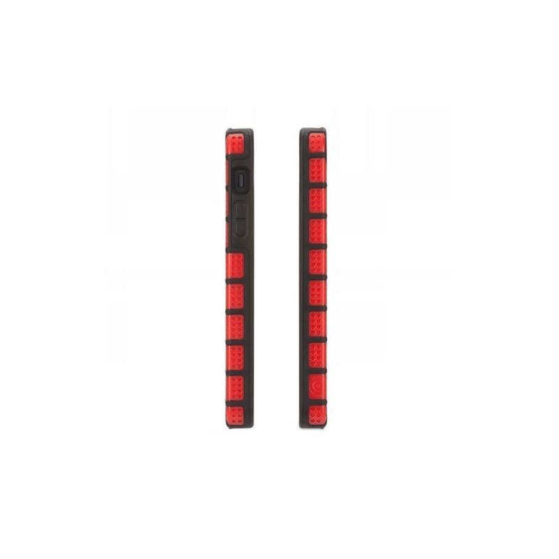 Griffin MeshUps iPhone 5(S)/SE Rouge/Noir