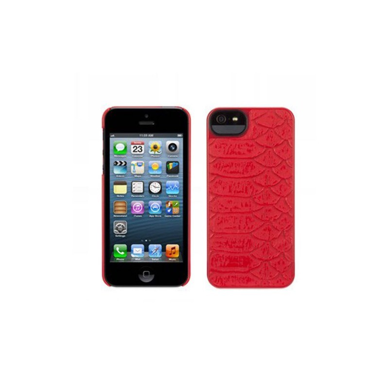 Griffin Moxy Form iPhone 5(S)/SE Rouge