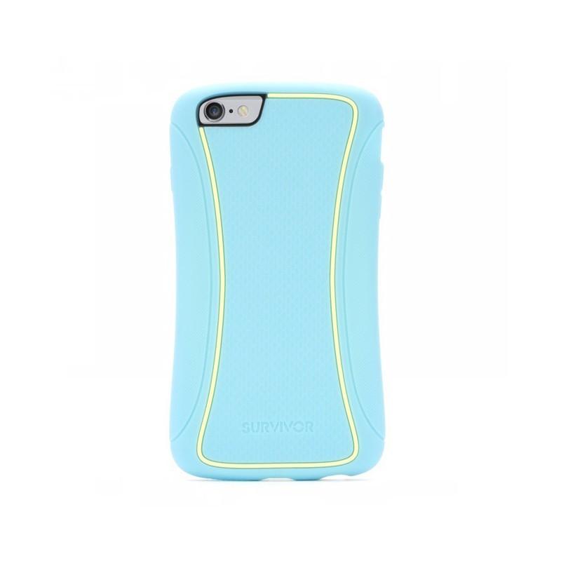 Griffin Survivor Slim - Coque iPhone 6(S) Plus - Turquoise