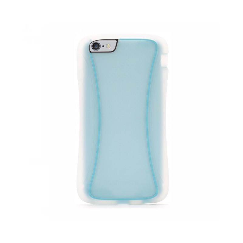 Griffin Survivor Slim étui iPhone 6(S) Plus transparent/bleu